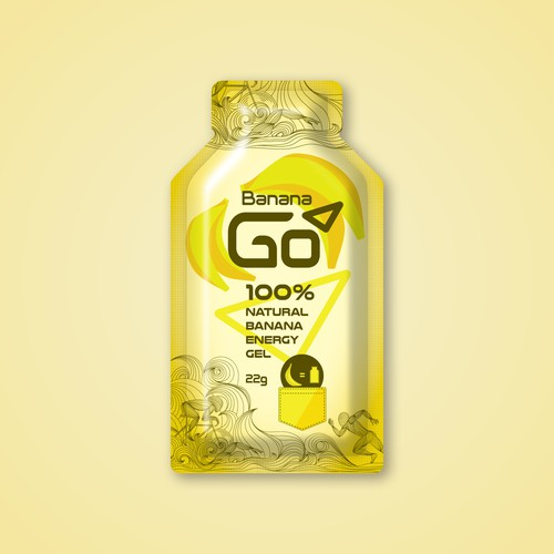 Natural Energy Gel for Active Person