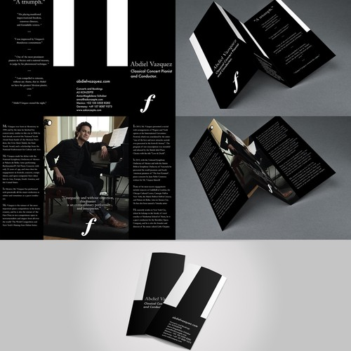 Piano Player Information Brochure