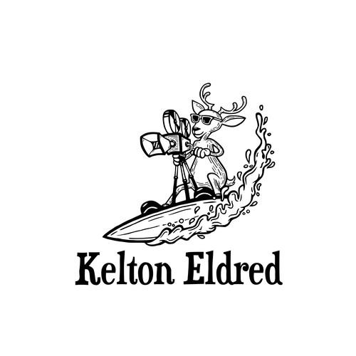 Surfing Branding Mascot Name Branding Logo