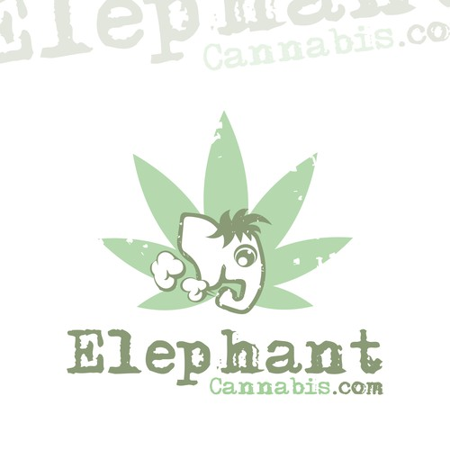 Logo for cannabis company new flower line