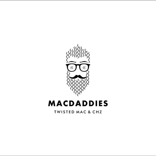 Concept logo for macdaddies