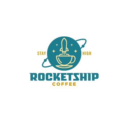 Rocketship Coffee Logo