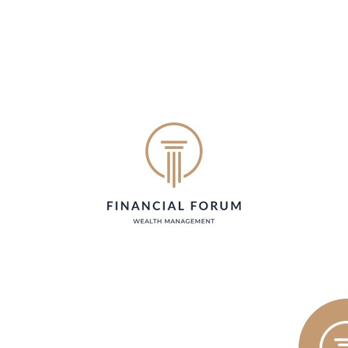 "Logo design for ""Financial Forum"""