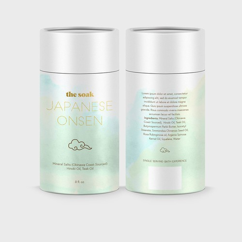 Packaging concept for a wellness product
