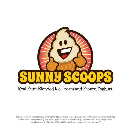Sunny Scoops Icecream