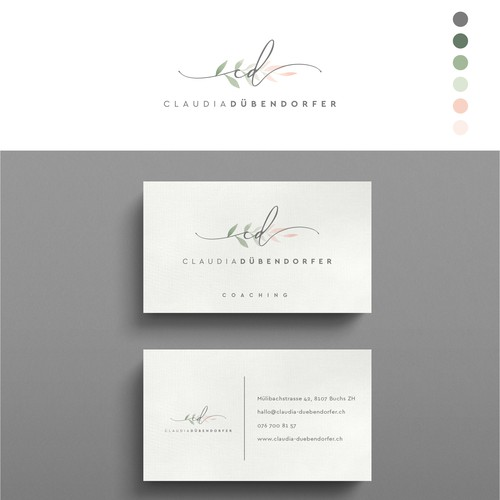 Logo & Business card for a Coaching business