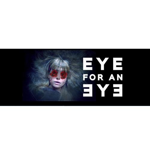 Creepy Facebook banner for Virtual Reality Horror flick