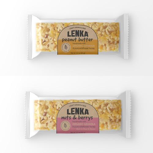 Packaging for Granola bars