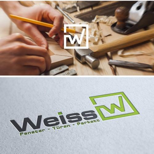 Webseite & Logo für Schreiner - carpenter / window manufacturers