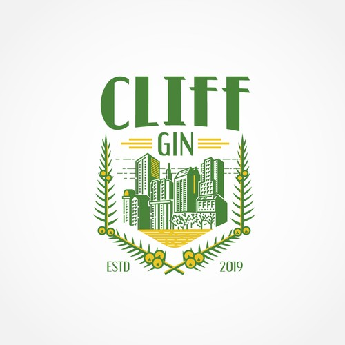 Classic Logo Concept for Gin Company