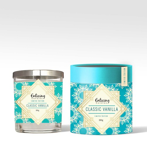 Label and Packaging Design for Candles