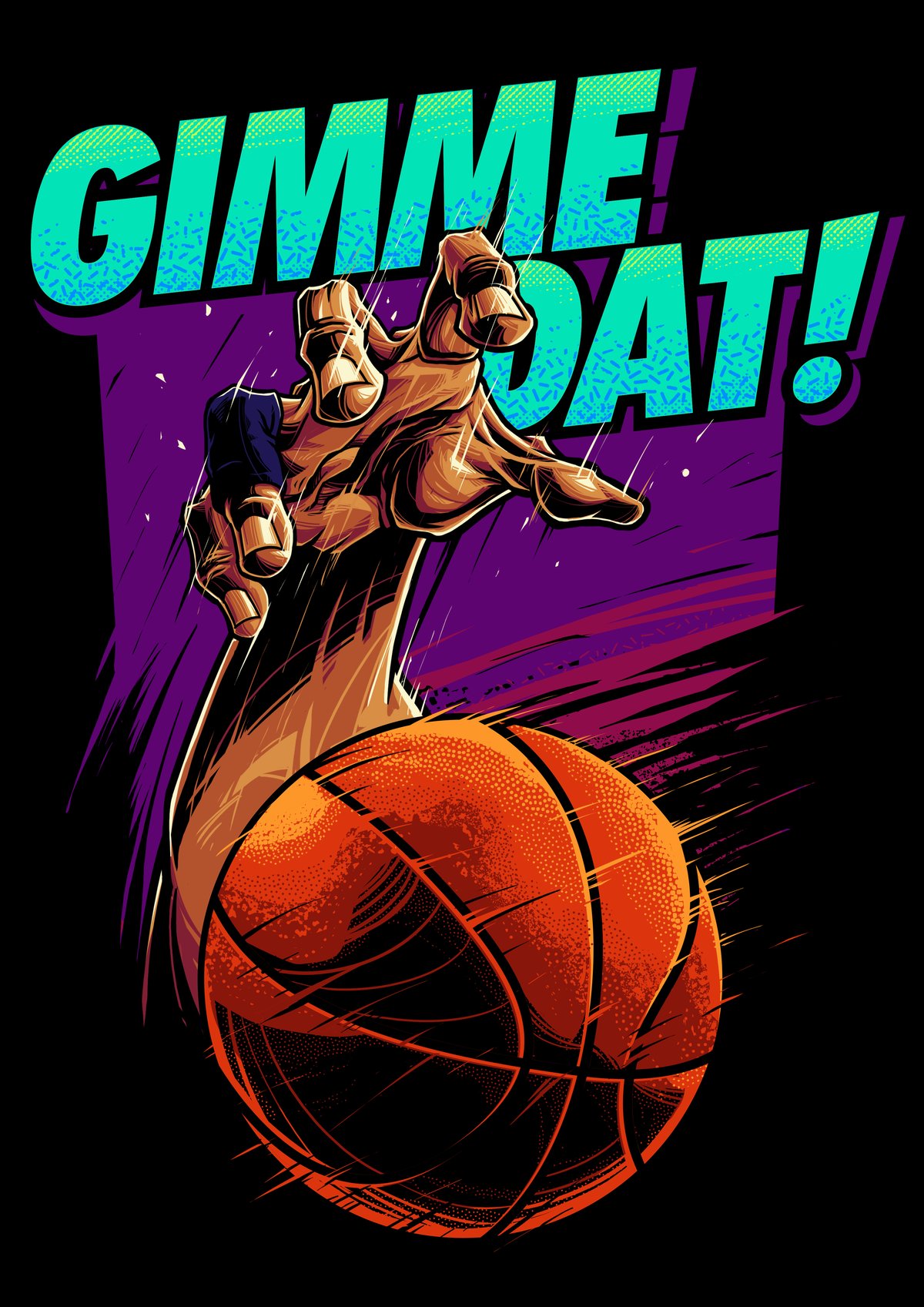 Basketball t-shirt design for preteen boy