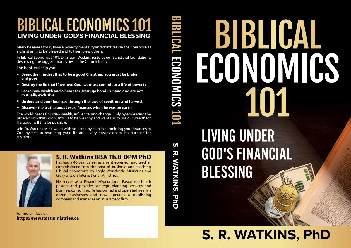 Biblical Economics 101 - cover updates and tweaks