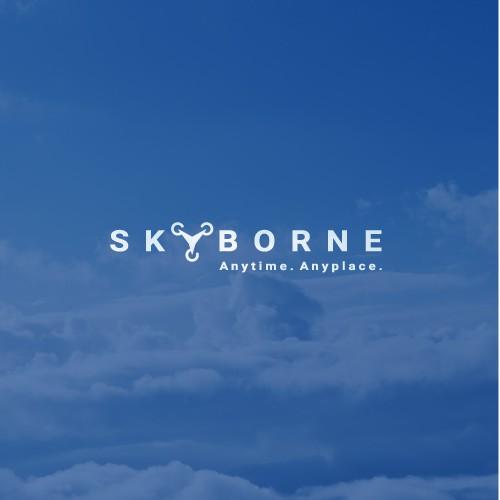 Logo design for a drone company