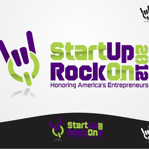 Create the next logo for StartUp RockOn
