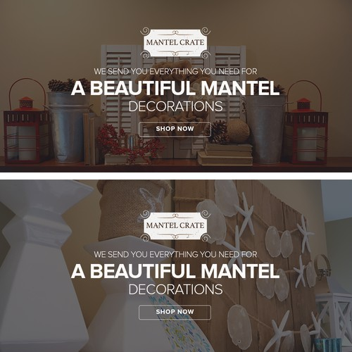 Mantel Crate Banner Design