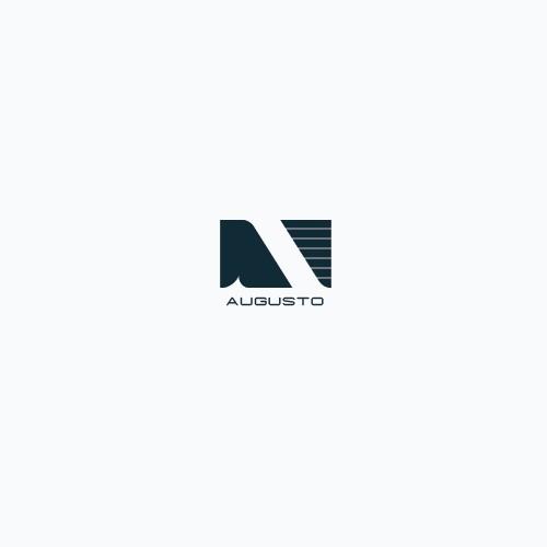 Bold logo concept for man fashion business