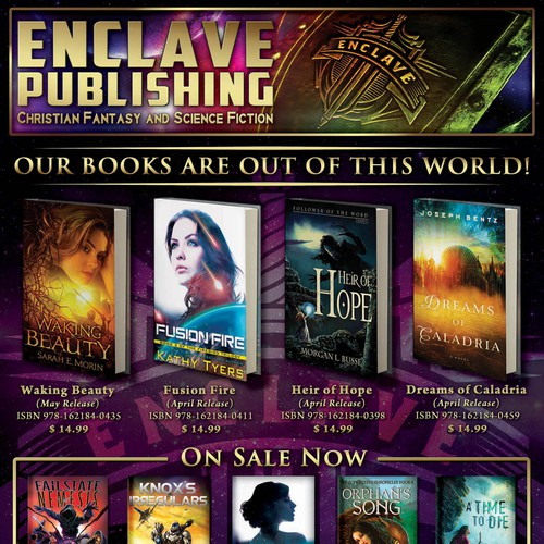 Full Page Magazine Ad for Science Fiction & Fantasy Books