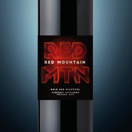 Premium Wine Label Design