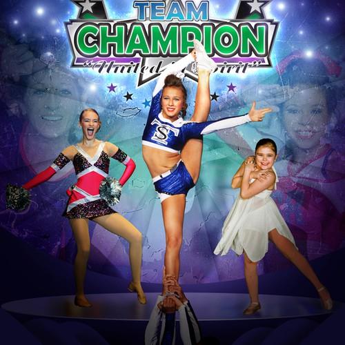 magazine cover for Team Champion