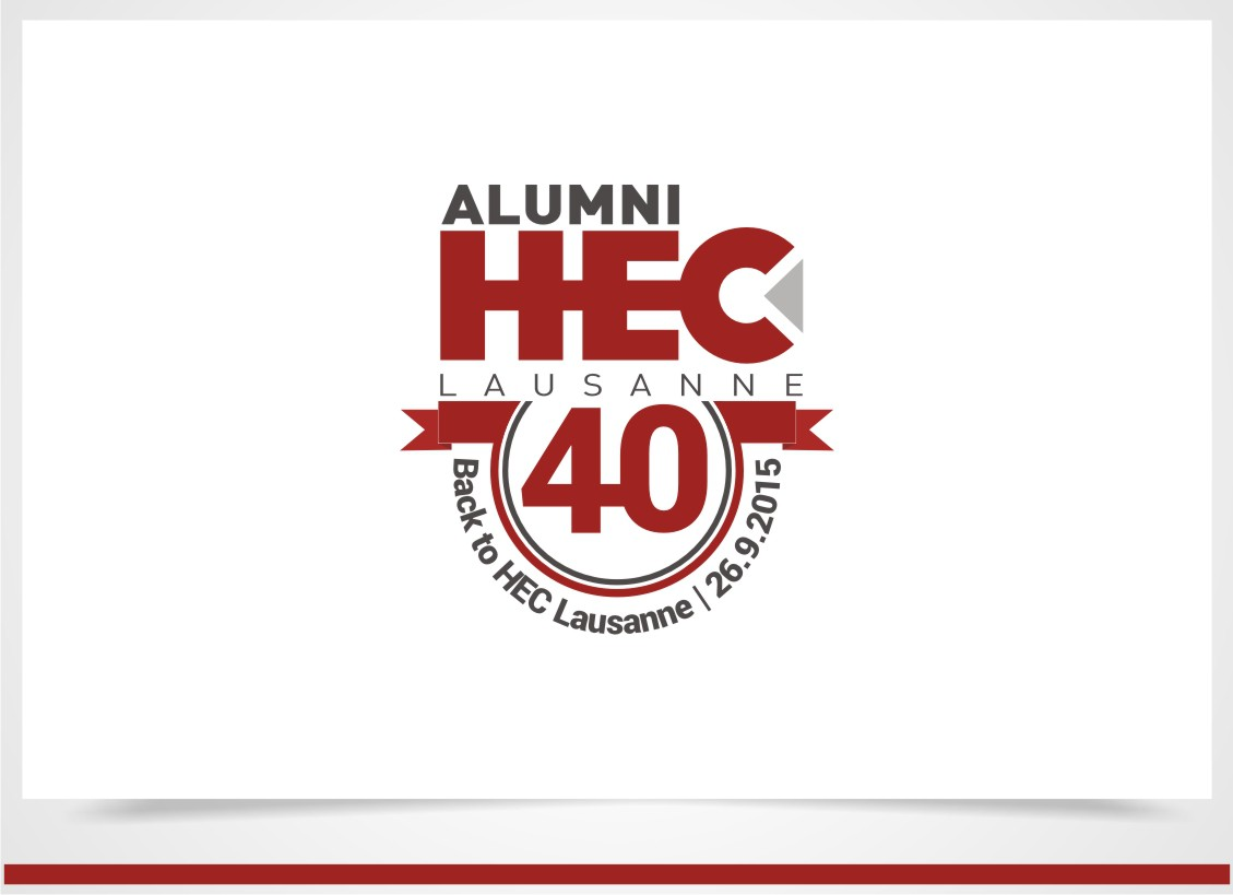 Créer un logo pour l'anniversaire des 40 ans d'une association de diplômés