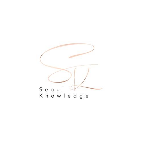 """SK"" logo design"
