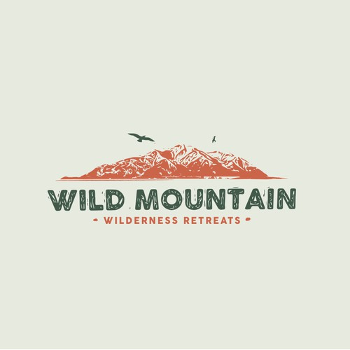 Wild Mountain Logo Design