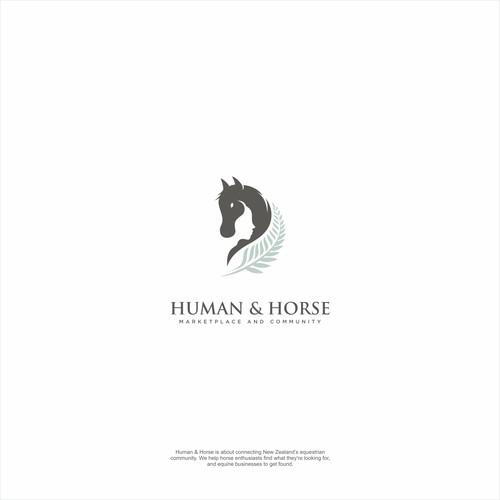 HUMAN & HORSE