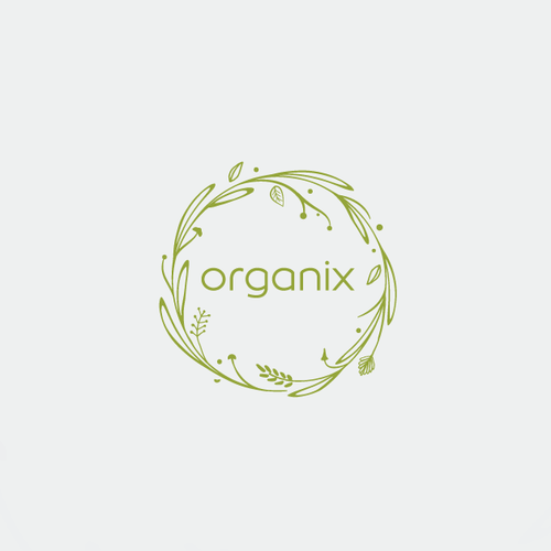 Modern logo with organic feel