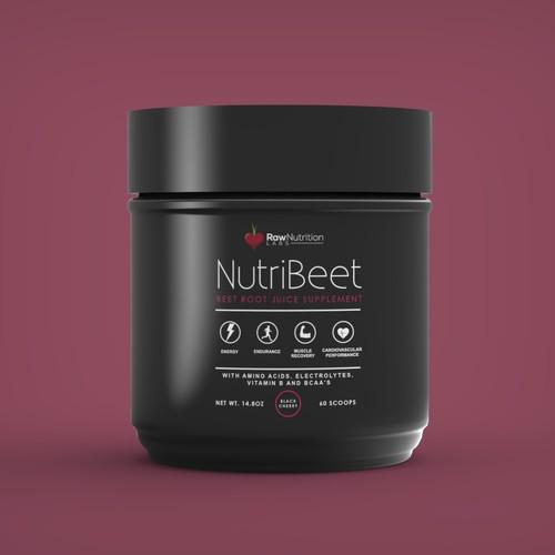 Label design for NutriBeet