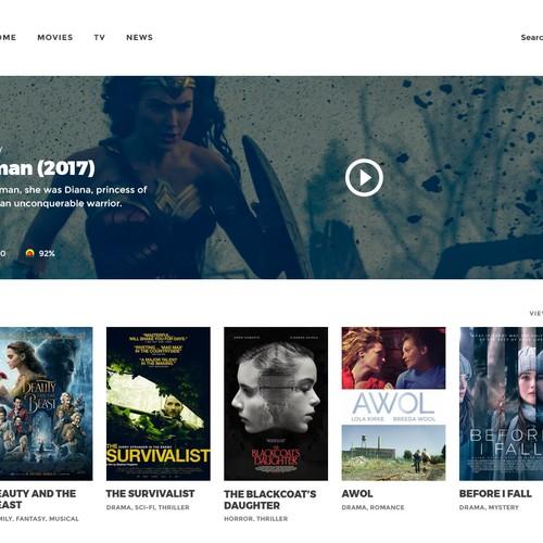 Movie & TV Website