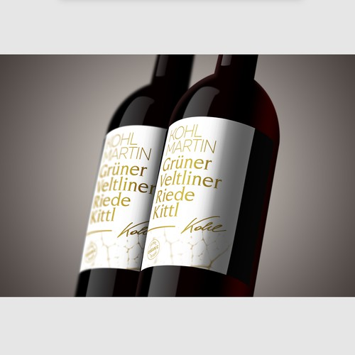 Wine Label Restyling
