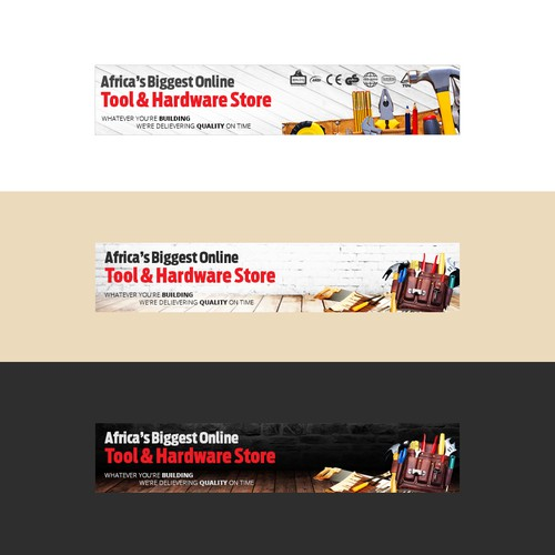 Hand Tools store banner