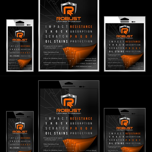 International Product Package Design for Mobile Screen Protector (ROBUST)