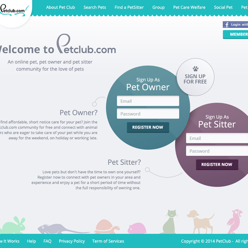 Pet-sitting Community Website