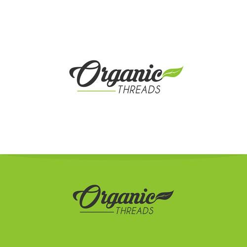 Design logo for organic threads