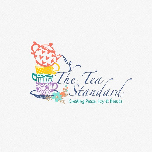 Wacky logo for start up Tea company