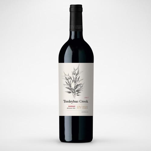 Tooleybuc Creek - Shiraz - Wine Label
