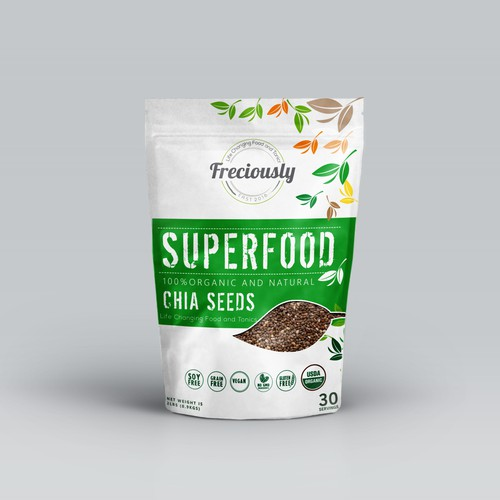 Brand Package for a Super Food