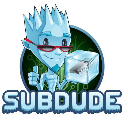 Subdude mascot