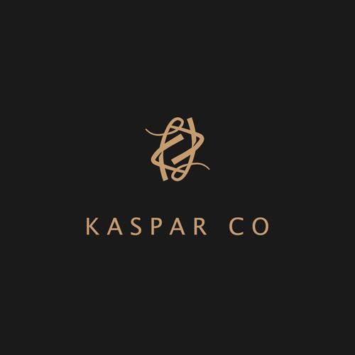 Luxury logo for KASPAR CO