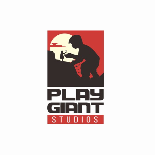 Cinematic Logo of a gaming studios