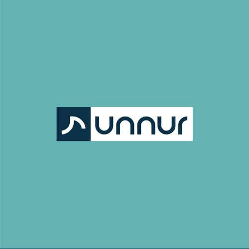 Logo for fitness company Runnur