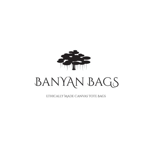 Logo concept for canvas tote bags