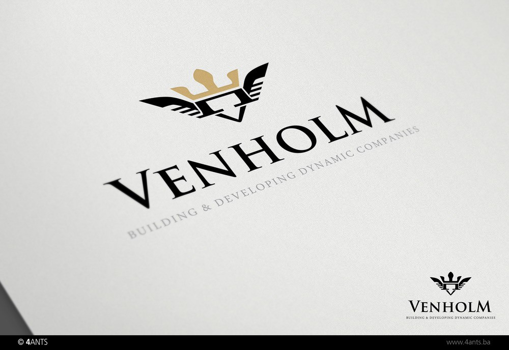 Create the next logo for VENHOLM
