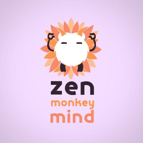 Zen Monkey Mind logo