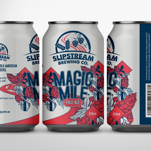 Pale ale beer design concept
