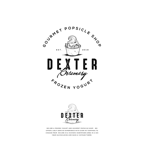 Logo Entry in contest : Dexter Creamery