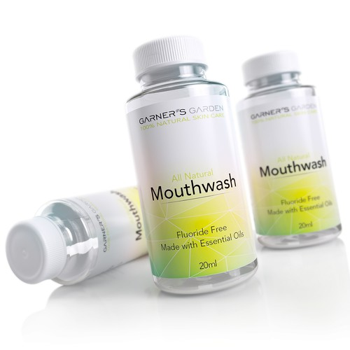 3d Rendering of a mouthwash product