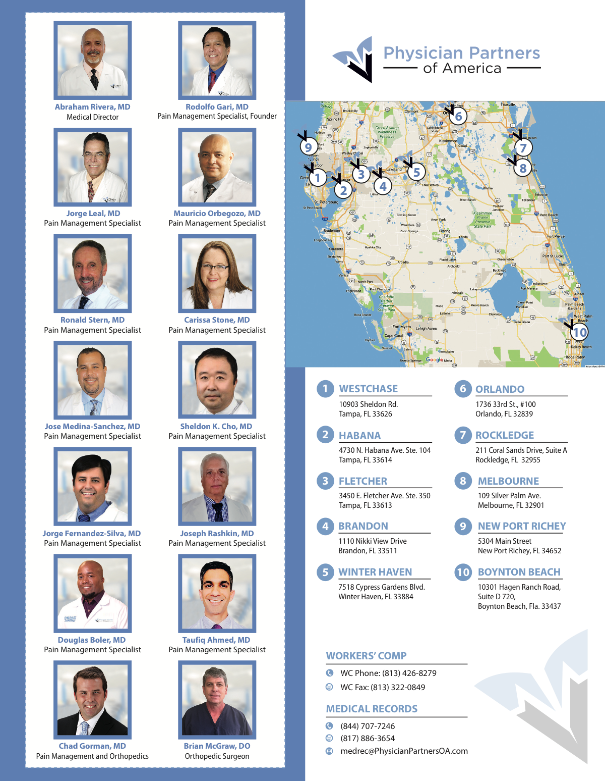 Florida Work Comp Flyer